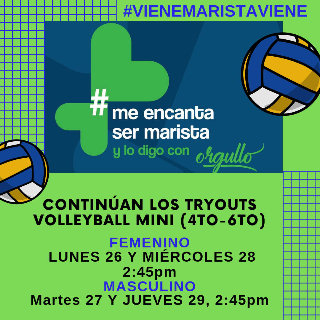 TRYOUTS VOLLEYBALL MINI